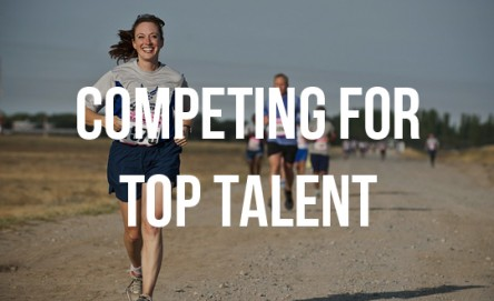 small companies compete for top talent